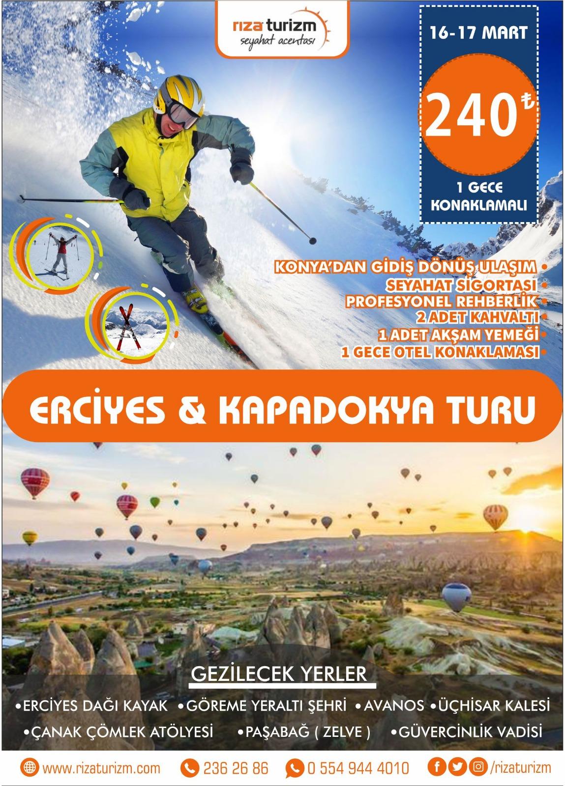 Erciyes Kapadokya Turu