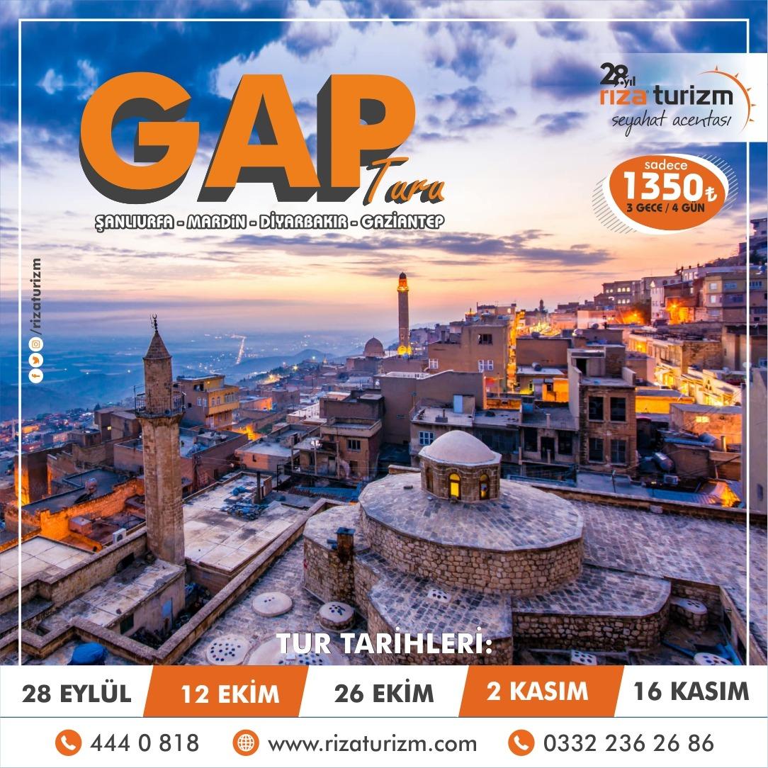 Güneydoğu Anadolu Turu 5 Yıldızlı Otellerde