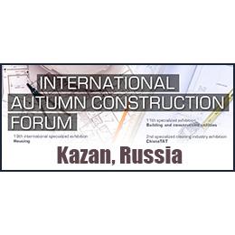International Autumn Construction Forum Kazan  Uluslararası İnşaat Teknolojisi ve Ekipmanları Fuarı